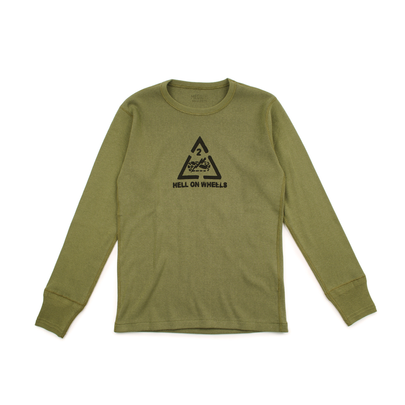 U.S.ARMY Undershirt / Hell On Wheels