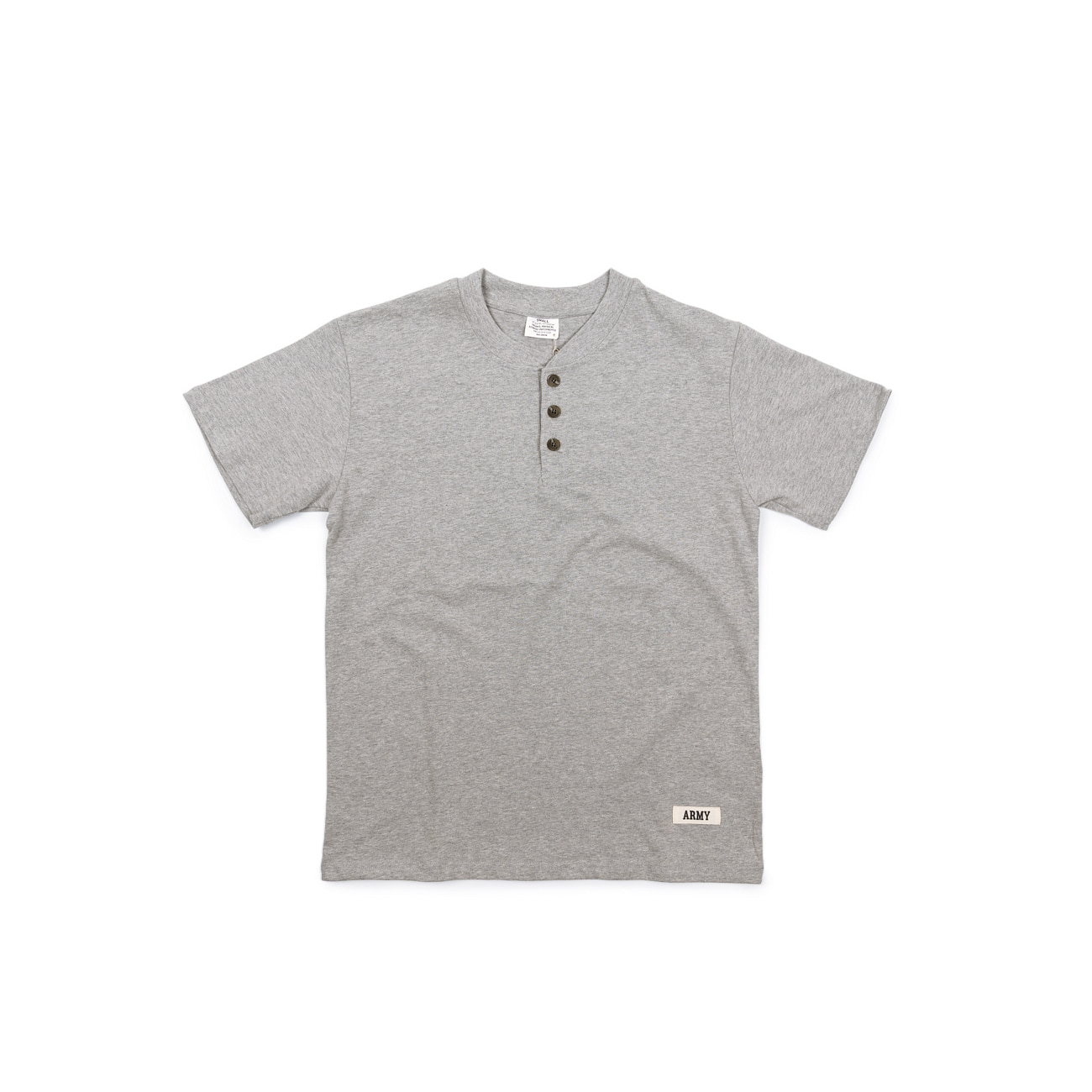 ARMY Henley Neck Tee